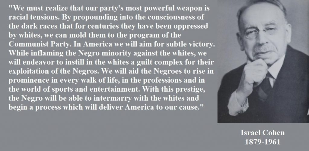 Israel Cohen, Antifa agenda, Black Lives Matter agenda,