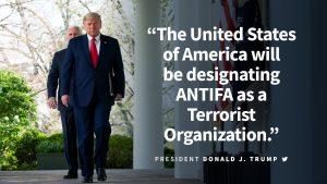 Trump: U.S. to designate Antifa as terrorist organization